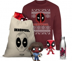 Sélection de Sacs de Goodies (Funko Pops) + Pull de noël en Promotion - Exemple : Sac Deadpool