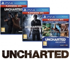 Uncharted : The Nathan Drake Collection  + Uncharted 4 + Uncharted : The Lost Legacy - Playstation Hits
