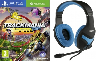 Micro-Casque Konix + Trackmania Turbo