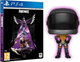 Fortnite : Pack Feu Obscur + Figurine POP - Dark Vanguard