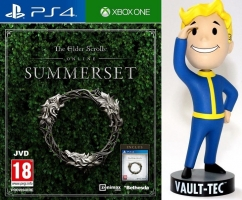 The Elder Scrolls : Summerset + Figurine Fallout 76 - Bobblehead