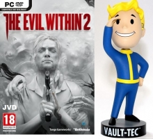 The Evil Within 2 + Figurine - Fallout 76 Bobblehead