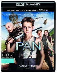 Sélection de Films Blu-Ray 4K en Promotion - Exemple : Pan - Blu-Ray 4K