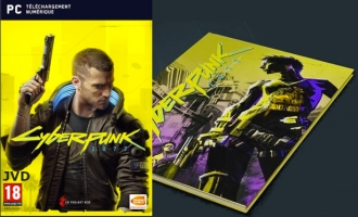 Cyberpunk 2077 - Day One Edition + Comic-Book Exclusif