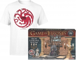 Set de construction Game Of Thrones (314 pièces) + T-Shirt Fire And Blood