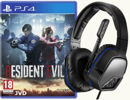Micro-Casque - Afterglow LVL3 + Resident Evil 2