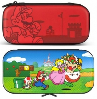 Etui de protection Super Mario Bros ou Mushroom Kingdom pour Nintendo Switch Lite
