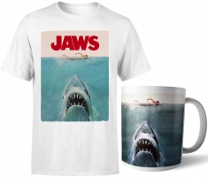 Lot Les dents de la mer : T-Shirt (au choix) + tasse
