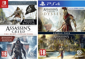 Assassin's Creed - The Rebel Collection ou Assassin's Creed Origins + Assassin's Creed Odyssey
