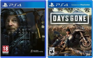 Death Stranding + Days Gone + 4€ Offerts