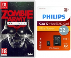 Zombie Army Trilogy + Carte Micro SD - 32Go