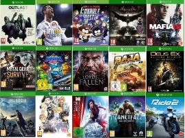Lot de 15 Jeux Xbox One : Tales of Vesperia - Definitive Edition + Ride 2 + South Park : L'Annale Du Destin...