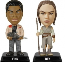 Star wars episode VII - Figurine Wacky Wobbler - Rey ou Finn