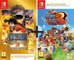 1 jeu Acheté = 1 Jeu Offert : One Piece Pirate Warriors 3 - Deluxe Edition + One Piece : Unlimited World Red - Deluxe Edition