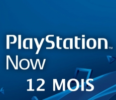 Abonnement PlayStation Now de 12 Mois