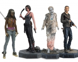 Lot de 12 Figurines EagleMoss - The Walking Dead