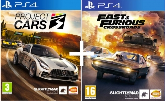 Project Cars 3 + Fast & Furious Crossroads