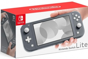 Console Nintendo Switch Lite - Grise + 16,50€ Offerts