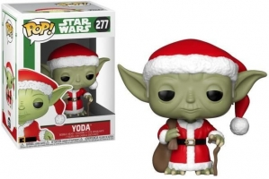 Figurine POP Star Wars - Holiday Santa Yoda