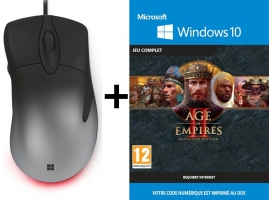 Souris Filaire - Microsoft Intellimouse Pro + Age of Empires 2 - Definitive Edition