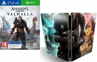 Assassin's Creed Valhalla (Mise à Niveau PS5 / Xbox Series X Gratuite) + Steelbook + 10€ Offerts
