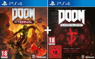 Doom Eternal + Doom Slayers Collection (Mise à Niveau PS5 / Xbox Series X Gratuite)