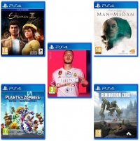Shenmue III + Man of Medan + Plants VS. Zombies: Battle for Neighborville + FIFA 20 + Génération Zéro