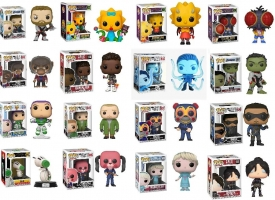 Lot de 16 Figurines POP + 4,15€ Offerts