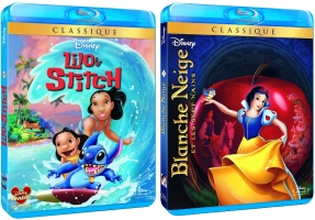 Lilo & Stitch ou Blanche Neige et Les Sept Nains - Blu-Ray