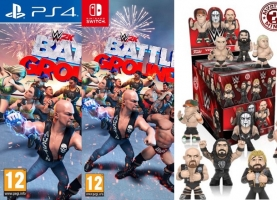 WWE 2K Battlegrounds + Mini Figurine Funko Mystère