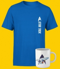 T-Shirt Star Trek + Mug