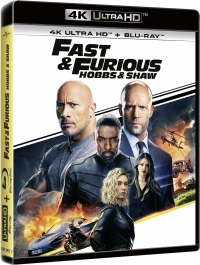Fast & Furious : Hobbs & Shaw - 4K Ultra HD + Blu-Ray