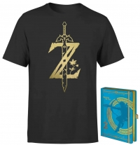 Lot Zelda : T-Shirt + Carnet