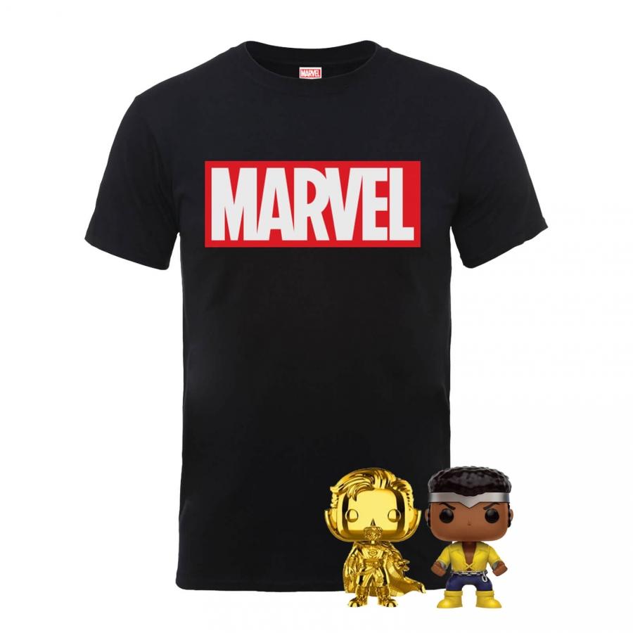 Bon plan T-Shirt Marvel avec figurines funko pop